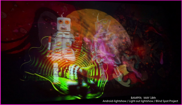 Berkeley BAMPFA Museum  Analog Light Show Festival May 2017