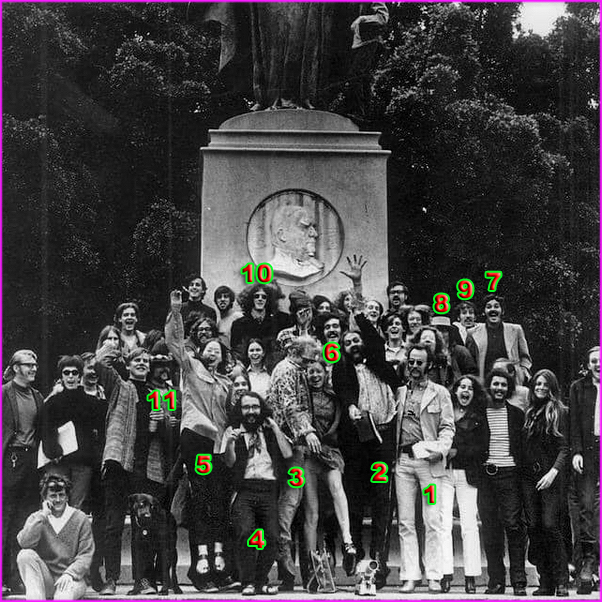 Light Artists Guild members 1969, Golden Gate Park